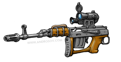 Задострелка-самозарядка